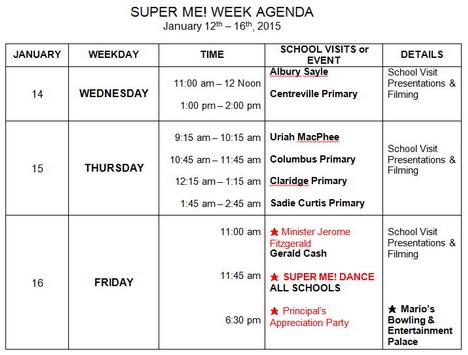 Super Me! program creating super kids